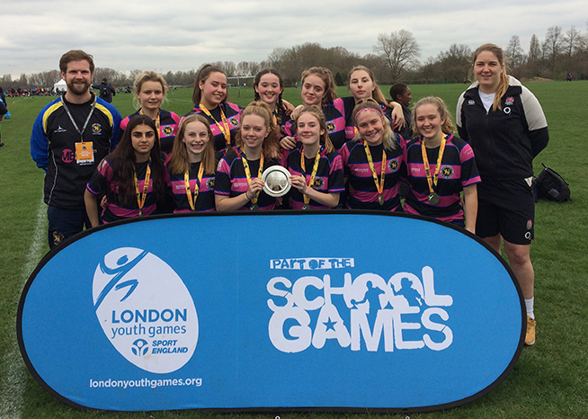 U18 girls rugby 7s finals